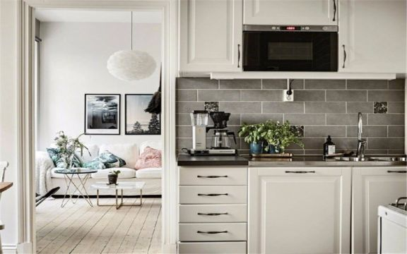 厨房细节北欧风格装修效果图