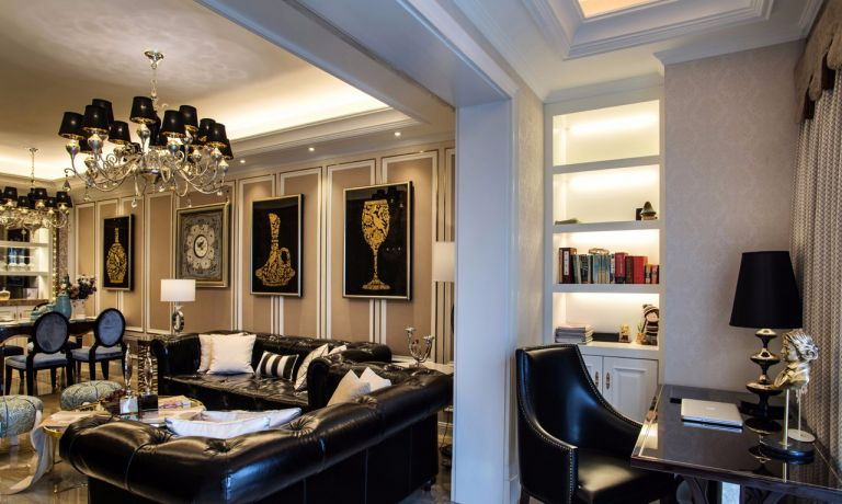 客厅隔断欧式风格装饰效果图