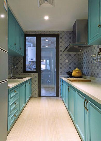厨房橱柜美式风格装潢图片