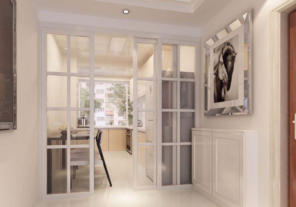 厨房推拉门现代简约风格装饰图片