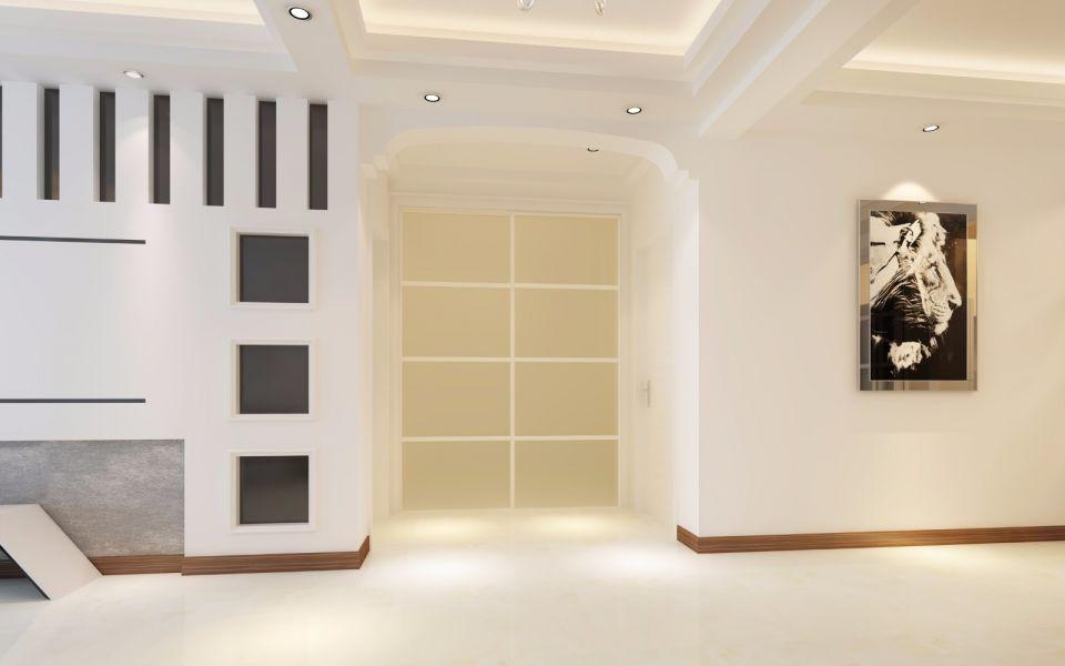 卫生间推拉门现代简约风格装饰设计图片