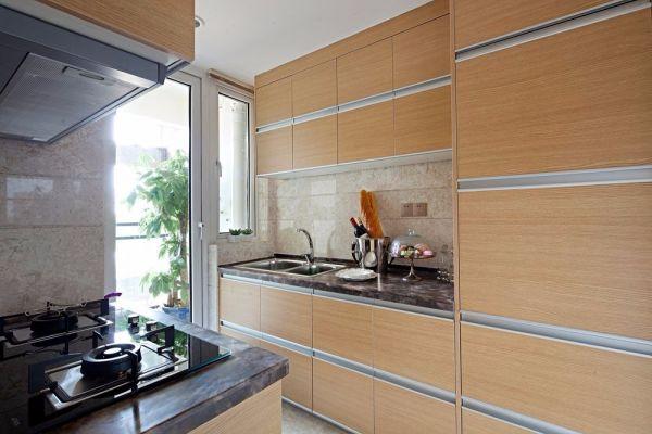 欧式风格厨房厨房岛台装饰设计