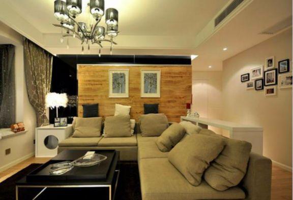 阳光城翡丽湾两室一厅54平混搭风格装修效果图