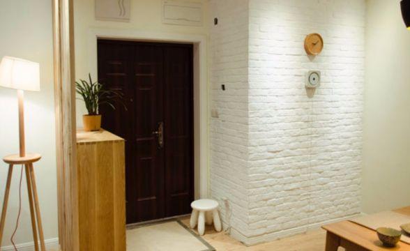 上海新苑兩室一廳80平混搭風格裝修效果圖