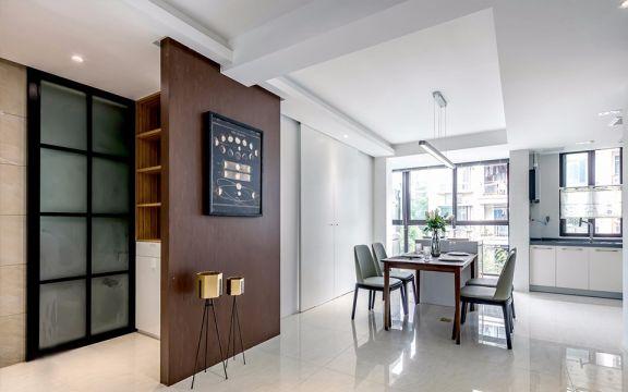 2021混搭80平米设计图片 2021混搭二居室装修设计