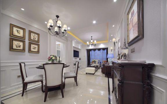2019美式70平米装修效果图大全 2019美式二居室装修设计