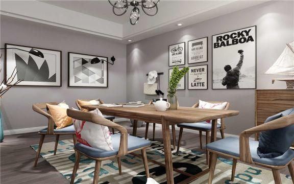 2019现代80平米设计图片 2019现代三居室装修设计图片