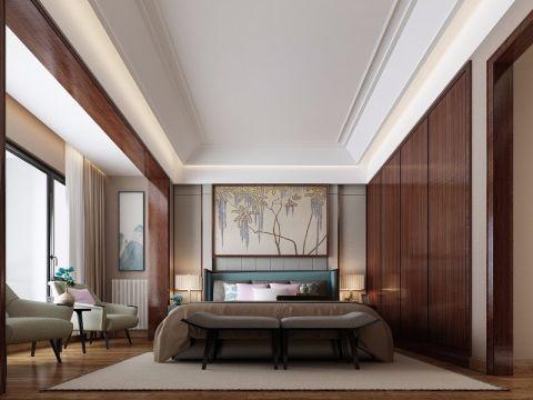 星语林·汀湘十里480平米中式风格别墅效果图