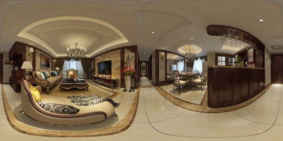 客厅走廊新古典风格装饰设计图片
