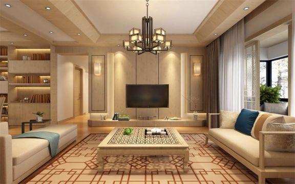 日式风格173平米大户型室内装修效果图
