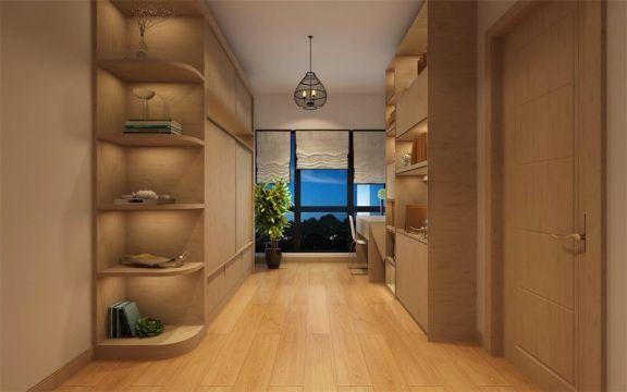 书房灯具日式风格装饰效果图