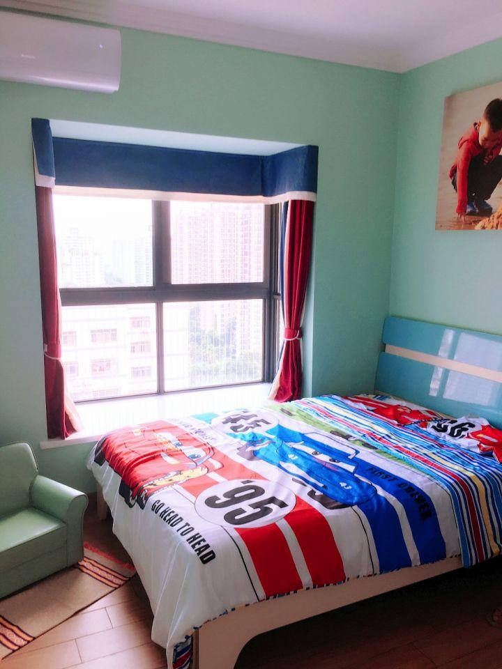 卧室隐形门混搭风格装潢设计图片
