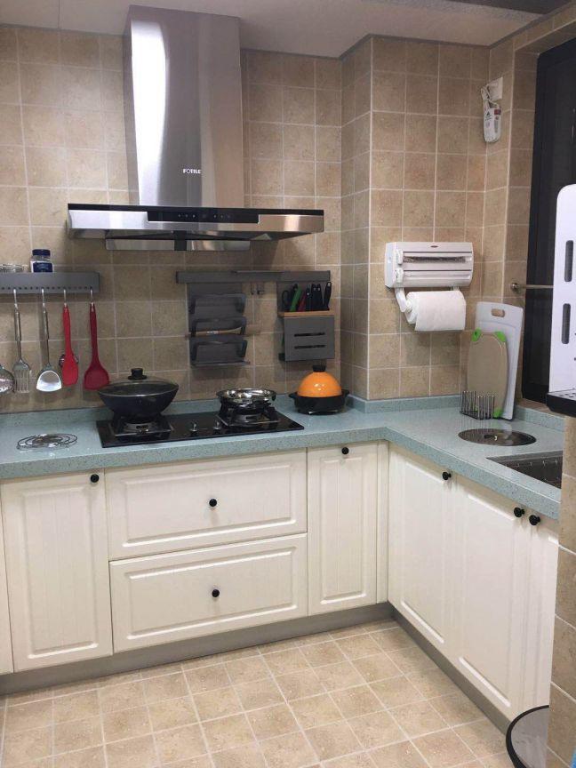 厨房博古架混搭风格装饰设计图片