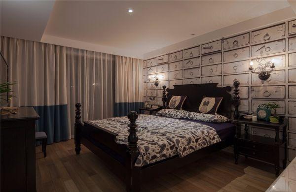 御龙山143平简美风格三居室装修效果图