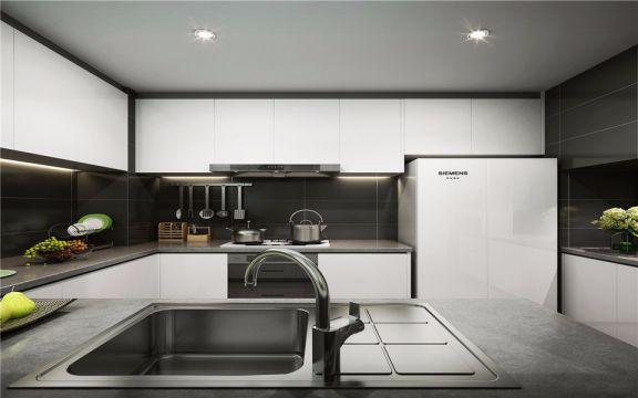 厨房厨房岛台现代简约风格装修效果图