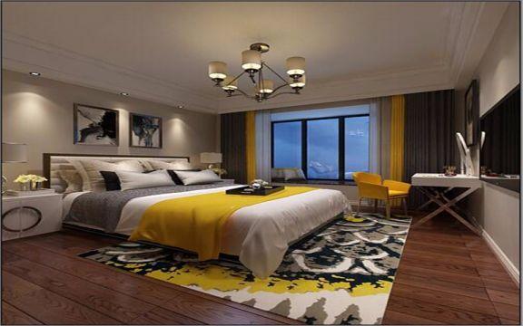 卧室床新古典风格装潢设计图片