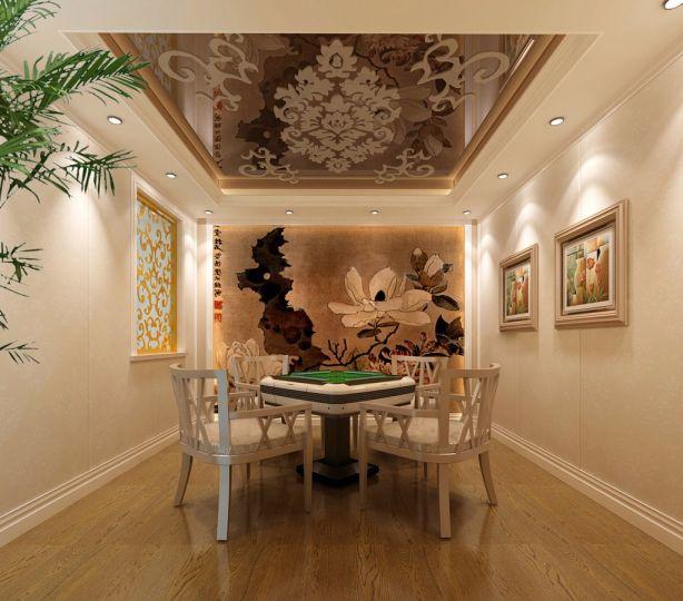 阳光房照片墙混搭风格效果图