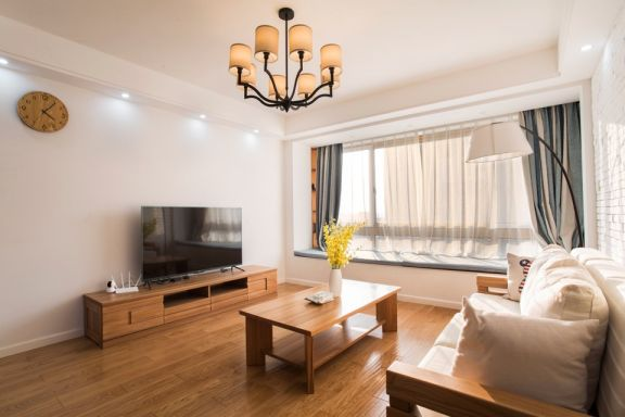 2021北欧120平米装修效果图片 2021北欧三居室装修设计图片