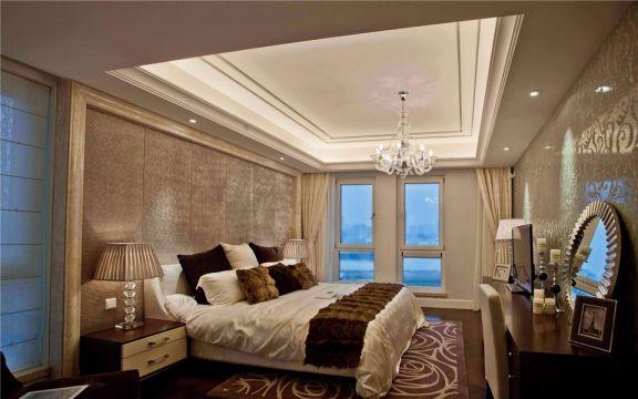 鸿意星城130平欧式风格三室两厅两卫装修效果图