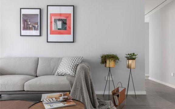 【众意装饰】绿地曲江名城127平北欧风格三居室装修效果图
