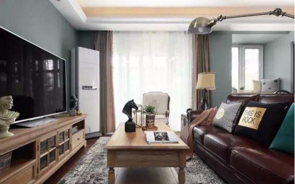 泊林春天115平米美式三居装修效果图