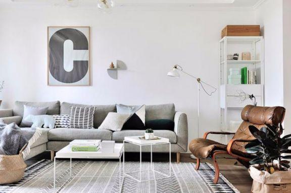 2019北欧120平米装修效果图片 2019北欧二居室装修设计