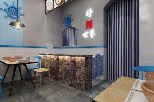 海鲜餐厅装修效果图