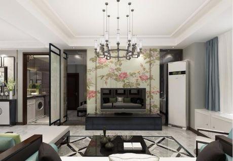 2019中式90平米效果图 2019中式二居室装修设计