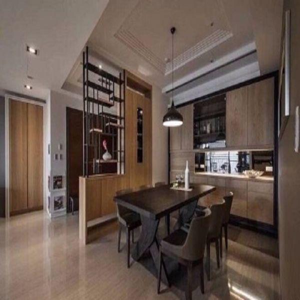 2020简约120平米装修效果图片 2020简约三居室装修设计图片