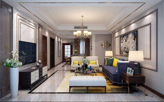 2020现代120平米装修效果图片 2020现代套房设计图片