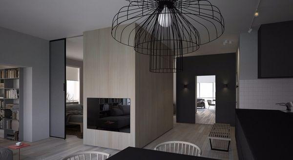 南京武夷绿洲70平米北欧式风格二居室装修效果图