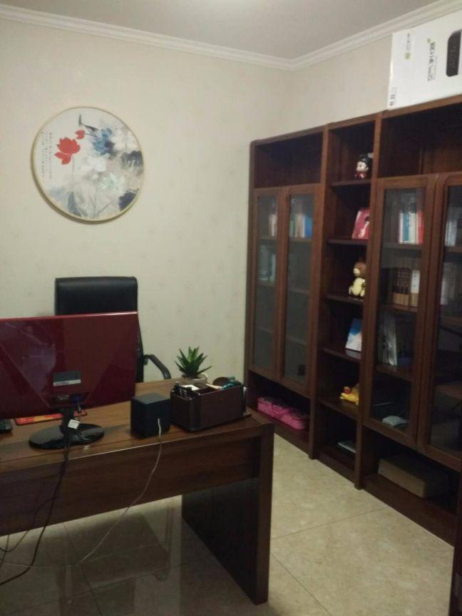 书房书桌新中式风格装修效果图