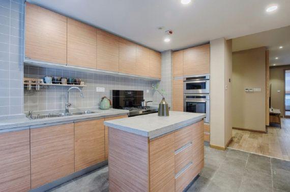 厨房橱柜日式风格效果图