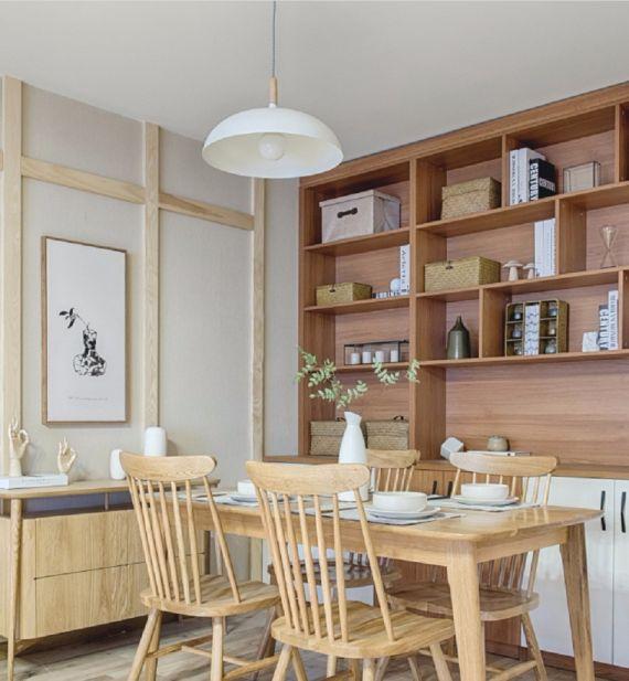 餐厅细节日式风格装饰效果图