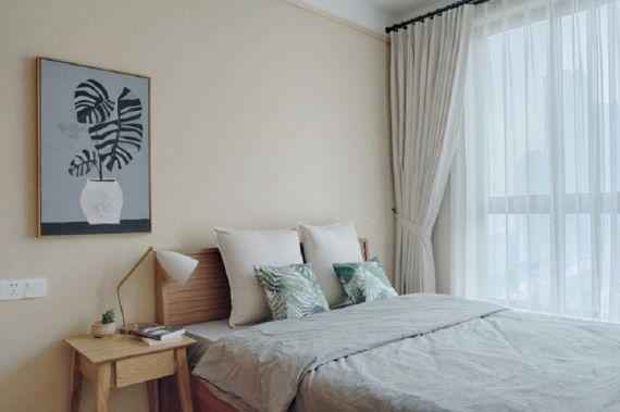 卧室床日式风格装修图片