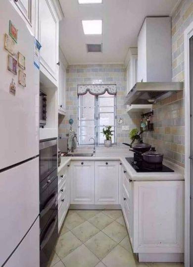 厨房橱柜法式风格装潢效果图