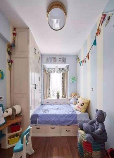 儿童房榻榻米法式风格装修图片