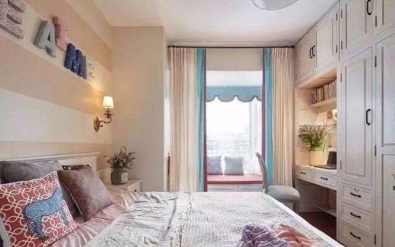 卧室窗帘法式风格装饰图片