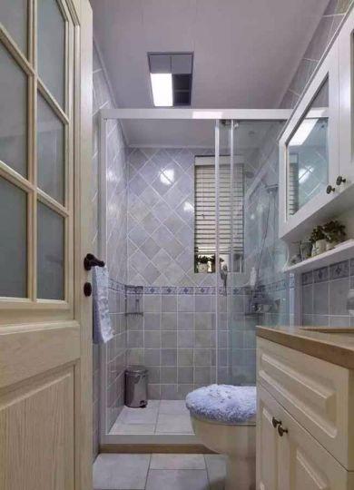 卫生间地板砖法式风格装潢图片