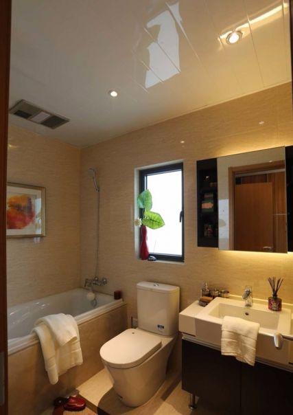 卫生间洗漱台新中式风格装饰效果图