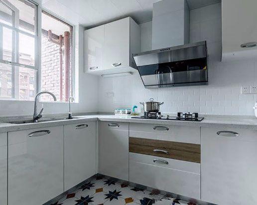 华丽厨房墙面效果图