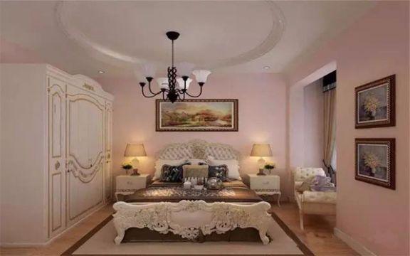 万光中央公园157平米欧式古典风格3居室装修效果图