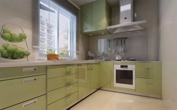 厨房橱柜古典风格装修图片
