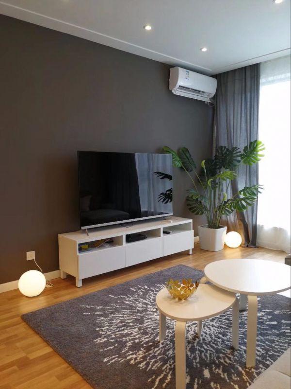 2019现代简约80平米设计图片 2019现代简约一居室装饰设计
