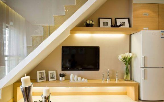 40平米现代一居室装修效果图