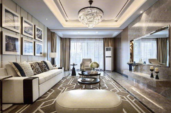 2021现代120平米装修效果图片 2021现代套房设计图片