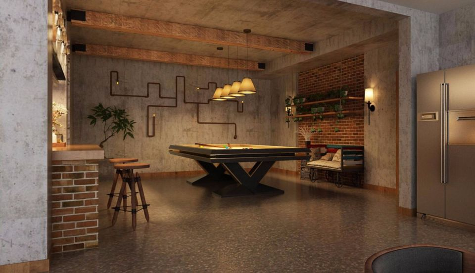 现代地下室吊顶装饰图片