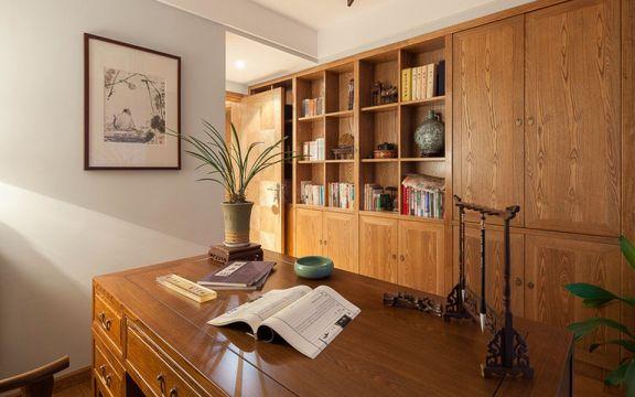 质朴书房室内装修图片