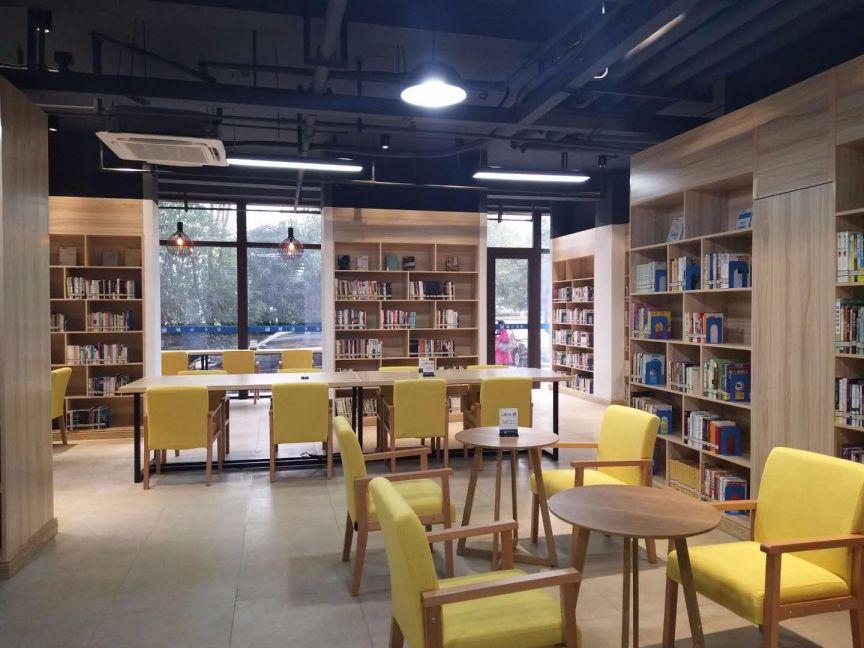 温州时代滨江城市书房装修效果图