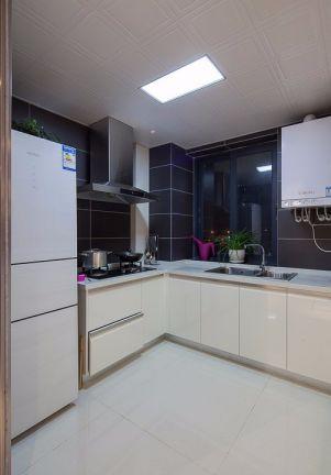 莊重廚房墻面裝飾效果圖